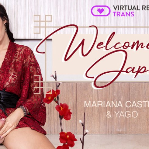 Sexy transsexual Mariana Castro helps you